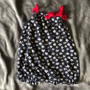 Gymboree floral jumper